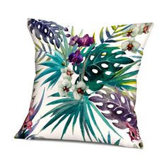 Dzika, zachwycająca i wyrazista – taka jest nasza pierwsza kolekcja poduszek dekoracyjnych. Pozwól się wciągnąć w tropikalne klimaty dzikich roślin i ptaków. Dzięki lekkiej, akwarelowej stylistyce grafik, wnieś do swojego wnętrza odrobinę wyrazistego i jednocześnie eleganckiego ciepła. #Poduszki #dekoracyjne, #nadruki na poduszkach, #tukan, #dzikie #ptaki, #kwiaty, papugi, #tropikalne #wzory i #rośliny, #wnętrza, #dekoracje, #salon #pokój dzienny  Do kupienia na www.persalo.pl