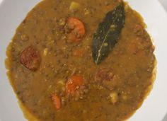 Lentejas con chorizo en 20 min para #Mycook http://www.mycook.es/cocina/receta/lentejas-con-chorizo-en-20-min
