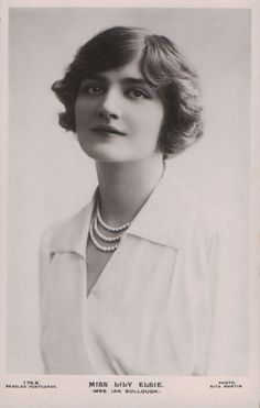 vintage everyday: A Collection of 70 Beautiful Vintage Portrait Photos of Lily Elsie from the mid-1900s through the 1910s