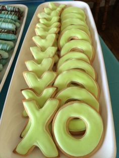 Bridal Shower - X O Sugar Cookies