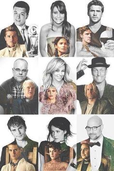 This cast is perfect.. Hunger games fans couldn't have asked for better actors to bring these characters to life<3