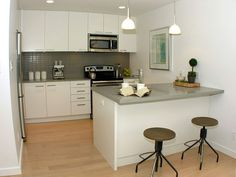 lovely design for a small kitchen