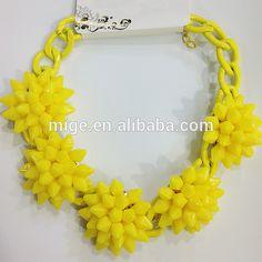 Moda 11 colores disponibles amarillo collar de flores de Color 5 florece el collar N0129-6-Bisutería de Aleación de Zinc-Identificación del producto:60074827539-spanish.alibaba.com