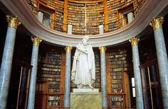 Library Pannonhalma Abbey Hungary