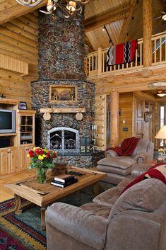 Living Room- Image detail for -Log Home Floor Plans | Log Home Plans for Log Homes