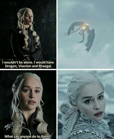 Finally she understands that her dragons are not everything she needs to win every war and battle Got Dragons, Game Of Thrones Dragons, Game Of Thrones Art, Mother Of Dragons, Khaleesi, Daenerys Targaryen, Growing Strong, My Champion, Got Memes