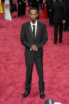 Captain Phillips star and Oscar nominee Barkhad Abdi looked dapper for his first Oscar appearance. Academy Awards 2014, Best Dressed Man, Looking Dapper, How To Look Handsome, Calvin Klein Collection, Pharrell Williams, Hollywood Glamour, Famous Faces, Red Carpet Fashion