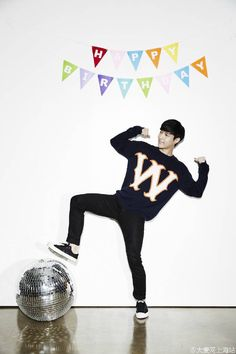 Happy Birthday Zhang Yixing I'm going to be the first to admit that I didn't create anything in preparation for Yixing's birthday ^^ No graphics, no gifs, no videos (except for the shaky one I. Kyungsoo, Chanyeol, Exo Birthdays, Changsha China, Yoseob, Yixing, Birthday Photos, Birthday Ideas, Boyfriend Material