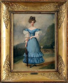 Caroline, Duchess of Berry by Alexandre-Jean Dubois-Drahonet , 1820s