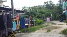 Thailand, Phuket outdoor laundy
