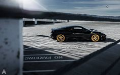Sport Y5 w/ Full Gloss Brushed Gold. #AristoCollection #AristoForgedWheels #02Forged #ForgedWheels #Ferrari