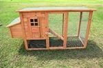 High Quality Wooden Chicken Coop / Rabbit Hutch
