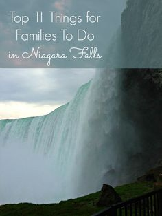 There are so many family and kid-friendly activities to do and things to see in Niagara Falls, Canada. The Falls are magnificent, and the ways in which you see above, below and under them is just as amazing. | Canada travel