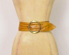 #Vintage #70s Brown #Leather #Belt Extra Wide Belt Cinch Waist Belt Buckle 70s Belt 70s #Hippie Belt 70s #Hippy Belt 70s #Boho Belt Women 25.5 #CinchWaist #Etsy #EtsyVintage #TrashyVintage @Etsy $28.00