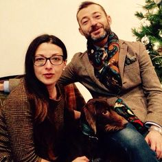 #florence #2015 #happynewyear #family #home #tweed #princeofwales #tartan #flowers #cashmere