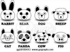 easy to draw animal faces - Google Search