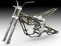 Trendy ideas for electric motorcycle chasis Vintage Bicycles, Vintage Motorcycles, Custom Motorcycles, Custom Bikes, Motos Trial, Motorbike Design, Offroader, Motorcycle Engine, Moto Bike