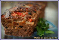 Molde de carne picada. :>Las recetas de Tere;;