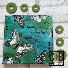 Fly Butterfly, Fly - mixed media Canvas - The Creative Studio