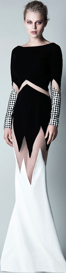 *.* Saiid Kobeisy pre fall 2016. Black & white