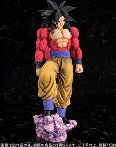 Figura Son Goku Super Saiyan 4, 24,5 cm. Dragon Ball Z Bandai  Figura de 24.5 cm basada en la serie de Dragon Ball Z, con el protagonista Son Goku.