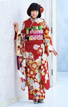 Cute kimono!by Suzu hirose.