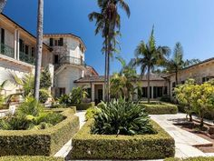 California: $125 million, Santa Barbara Oasis estate. designed in 1931.