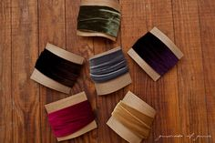 stretch VELVET headband in any color  garlands by GarlandsOfGrace, $18.00