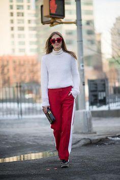 Tendencia a prueba: 'Track pants', ¿sí o no? Chiara Ferragni