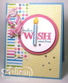 Make a Wish   video tutorial also by Cindy Beach   stampspaperandink.typepad.com