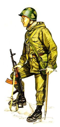 Soviet Mountain Infantry 1986, pin by Paolo Marzioli