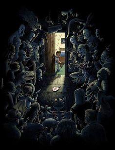 monsters cupboard