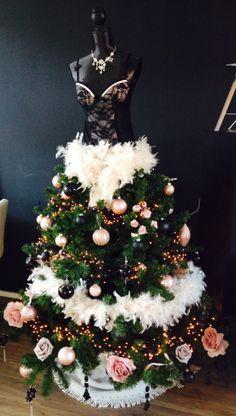 My christmastree dress! #tree #paspop #dress #jurk #kerstboom