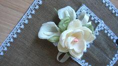 MAGNOLIA buttonhole Wedding BUTTONHOLE rustic by moniaflowers