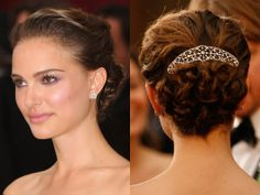 Natalie Portman, 2009 Oscars hair and makeup - The 13 best Oscars beauty looks EVER - Cosmopolitan.co.uk
