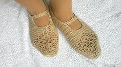 Crochet womens slippers bridal slippers home by KnitterPrincess, $19.90