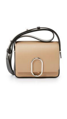 9775d8ed9a3a 3.1 Phillip Lim Alix Flap Mini Cross Body Bag - Fawn Black
