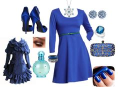 """""""I got the blues..........................."""" by carolwatergirl on Polyvore"""