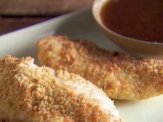 Crunchy Parmesan Chicken Tenders from FoodNetwork.com