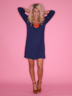 Game Day Sweetheart Navy $38...would be great for Chicago bears gamedays