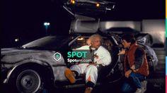 The DeLorean DMC-12 of Doc in Back to the Future #Cars #FastCars #Movie #Spotern #MovieScene #Ford #Pontiac #Chevrolet #Mustang #Ferrari #Audi #Lamborghini #Falcon #Volkswagen #Dodge #ActionMovie