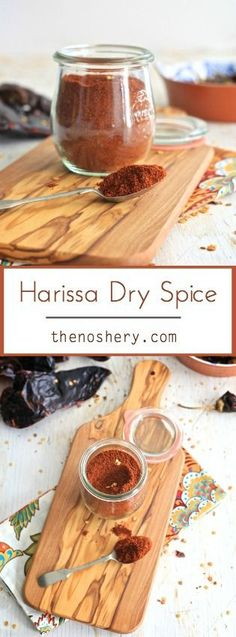 Harissa Spice Blend | A great way to sprinkle a little heat over your favorite food! | TheNoshery.com - @thenoshery