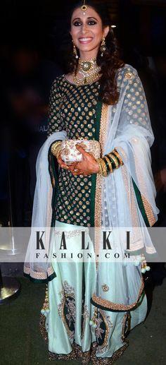 Kishwer glowing in her KALKI outfit