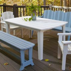 Outdoor Uwharrie Carolina Preserves 48-in. Rectangle Patio Dining Table - C092-039W
