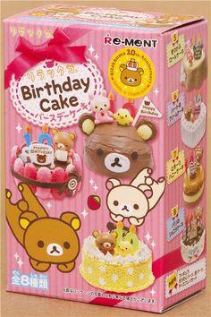 Rilakkuma Birthday Cake Re-Ment miniature blind box 2