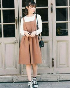 Pin by Zexal Princess on Comfy outfits in 2020 Modest Dresses, Modest Outfits, Cool Outfits, Casual Outfits, Korean Outfits Cute, Long Skirt Outfits, Long Skirts, Cute Fashion, Modest Fashion