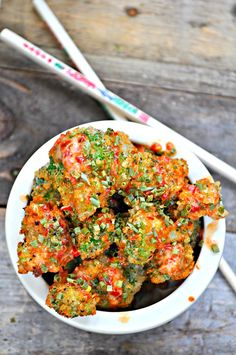 Vegan Bang Bang Broccoli - December 04 2018 at - and Inspiration - Plant-based - Vegan Recipes And Delicious Nutritious Meals - Vegetarian Weighloss Motivation - Healthy Lifestyle Choices Best Broccoli Recipe, Broccoli Recipes, Vegetable Recipes, Beef Recipes, Vegetarian Recipes, Healthy Recipes, Asparagus Recipe, Vegetable Dishes, Fish Recipes