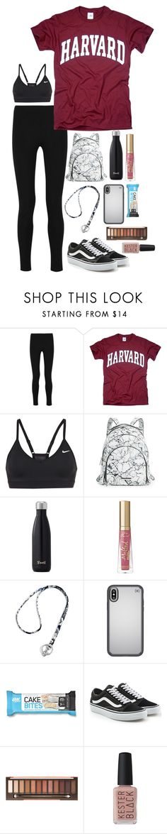 """""""School OOTD 📓"""" by kindaval ❤ liked on Polyvore featuring Joseph, Kendall + Kylie, Vera Bradley, Speck, Vans and Kester Black"""