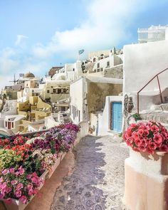 Santorini, Greece  ✨S. B. Pinterest: Slimbaby86✨