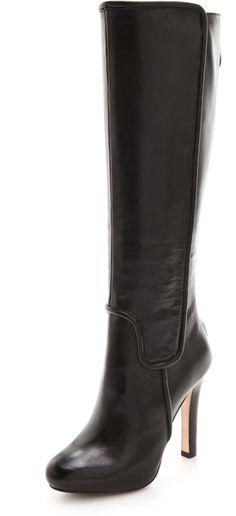 Crystal High Heel Boots